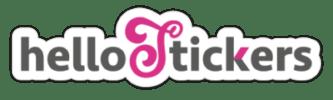 HelloStickers Stickers et autocollants personnalisés Hello Stickers Logo