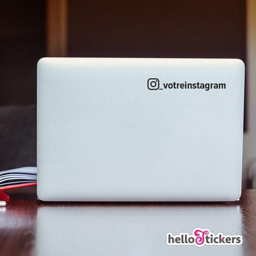 270719b sticker autocollant_ instagram personnalisable personnalisé pour ordinateur pc mac